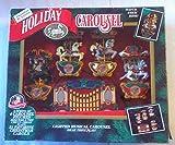 Mr Christmas Holiday Lighted Musical Animated Horses Organ Carousel 21 Christmas Carols