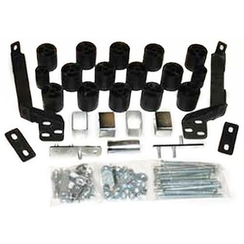 Performance Accessories, Dodge Ram 1500/2500/3500 Gas 2WD and 4WD Std/Ext/Dual 3″ Body Lift Kit, fits 1994 to 1996, PA663, Made in America