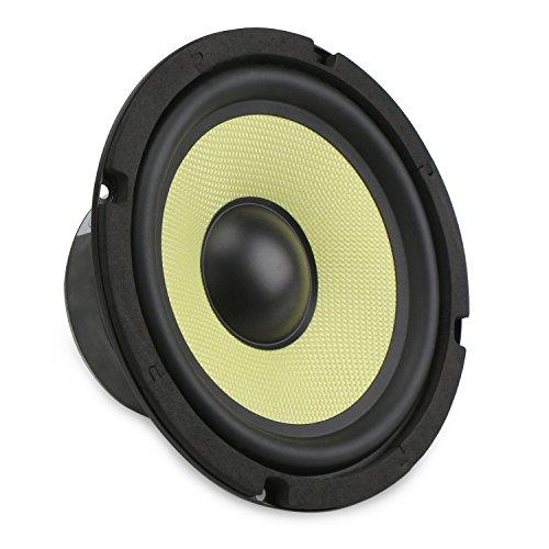 DROK 6.5'' Subwoofer Hifi Speaker Glass Fiber Mid-bass 4 Ohm Audio Speakers, 88Db High Sensitivity Home Audio Stereo Speaker, 35W Loudspeaker DIY Component Speakers Car Speakers For Sound System by DROK