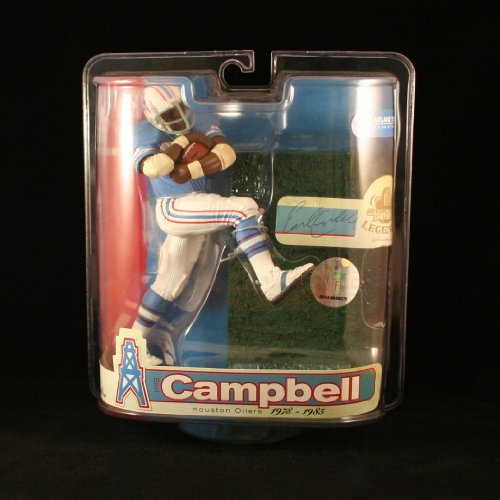 EARL CAMPBELL / HOUSTON OILERS McFarlane 6 Inch NFL LEGENDS SERIES 3 Sports Picks Action Figure
