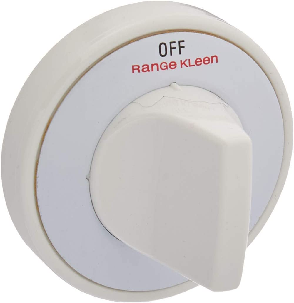 Range Kleen 8234 Gas Range Knobs – 4 White Gas Range Safety Knobs Gas Stove Accessories