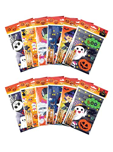 Trick Or Treat Halloween Coloring Pages (Halloween Coloring Books with Crayons Party Favors, Set of)