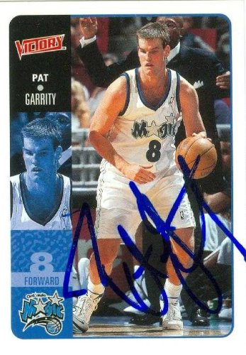 Pat Garrity autographed Basketball Card (Orlando Magic) 2000 Upper Deck Victory -