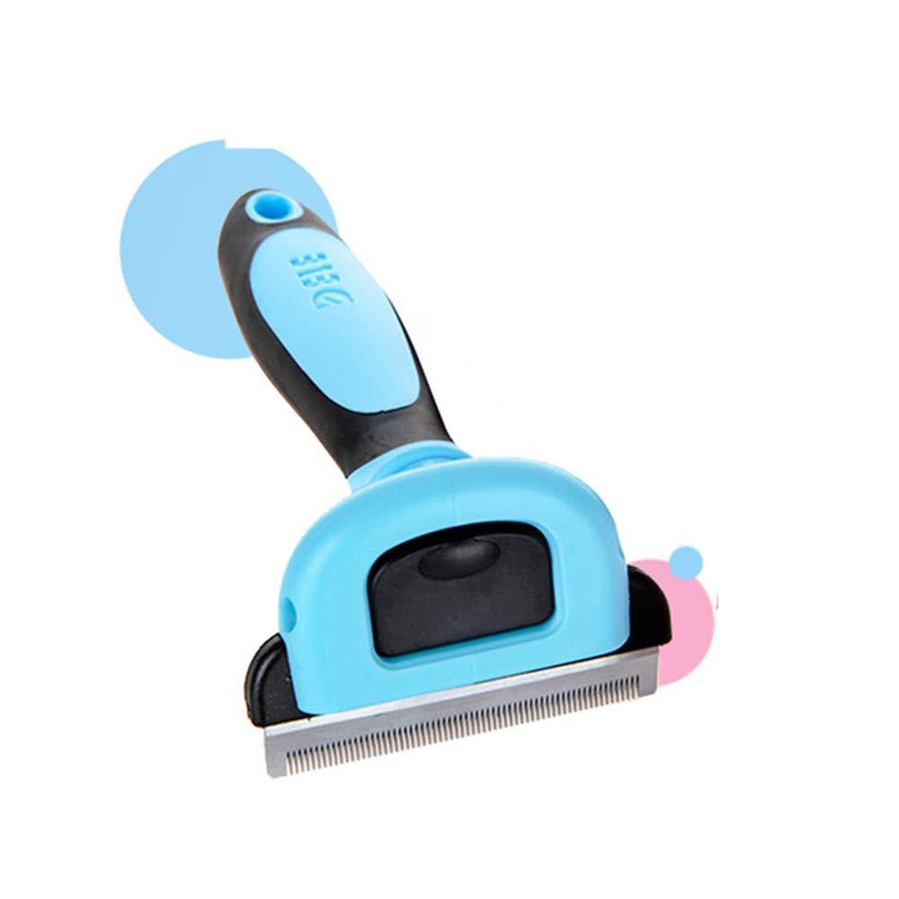 bluee Large bluee Large KTYX Makeup Remover Cat Brush Beauty Tool Detachable Scissors Accessories Pet Trim Comb Cat Pet Supplies Pet Supplies (color   bluee, Size   L)