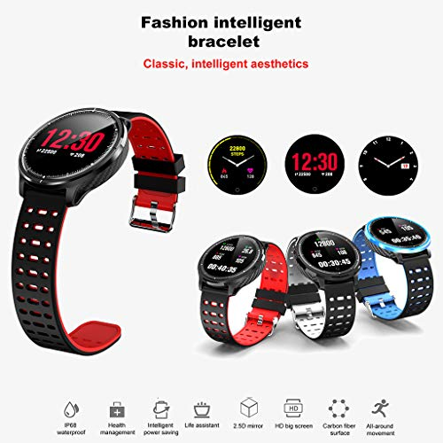 IP67 Waterproof Fitness Tracker,Donci Sports Smart Watch Fitness Activity Heart Rate Tracker Blood Pressure Watch