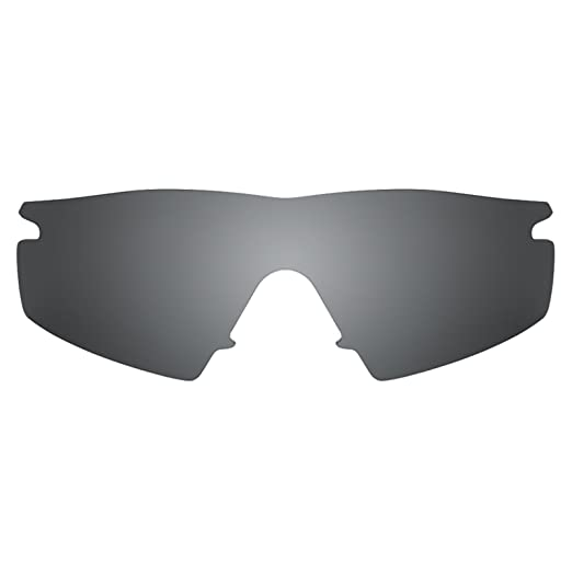 4e5d99bf22 Revant Polarized Replacement Lenses for Oakley M Frame Strike Elite Black  Chrome MirrorShield