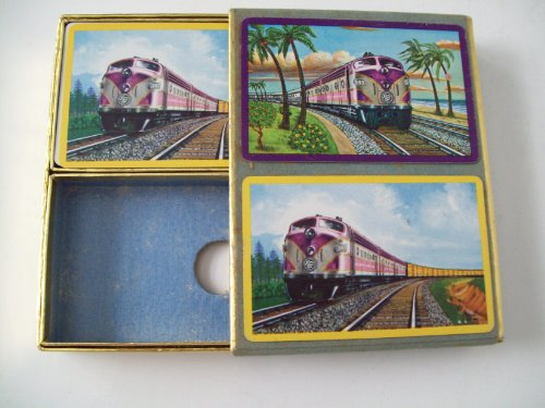 (Atlantic Atlantic Coast Line Railroad Playing Cards)