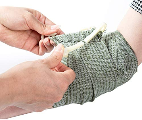 Uyuke Notfall-Traumabandage Erste-Hilfe-Bandage Vakuumverpackungsbandage für Outdoor-Aktivitäten