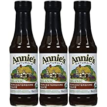Annies Homegrown Organic & Vegan Worcestershire Sauce 6.25 Ounce (Pack of 3) - Pack Of 3