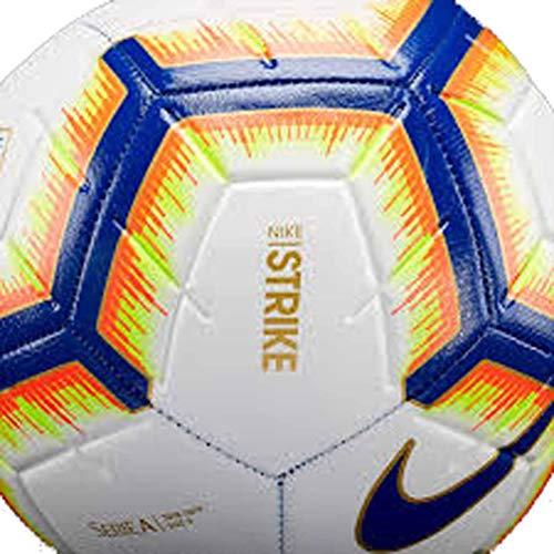 Nike Serie A Football Strike (2018/2019Unisex Adult, White/Bright Mango/Royal Blue/Royal Blue, 5