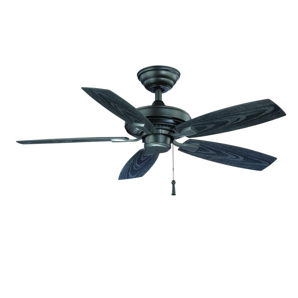 Hampton Bay YG187-NI 233 967 Indoor Outdoor Natural Iron Ceiling Fan