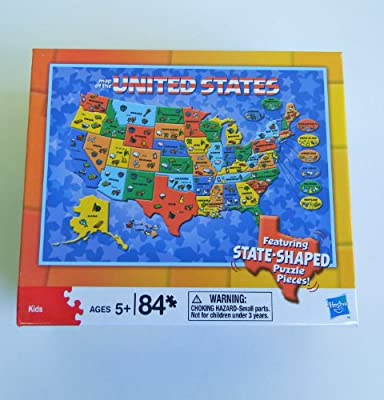Cardinal Industries Usa Map Puzzle by Cardinal Industries
