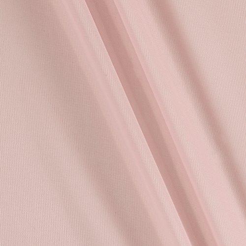TELIO Matte Chiffon Mesh Blush Fabric By The Yard (Blush Shaper)