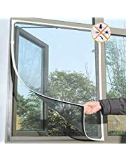 St. Lun Fly Mosquito Window Net Mesh Screen Room Curtinas Net Mosquito Curtains,Variation:white