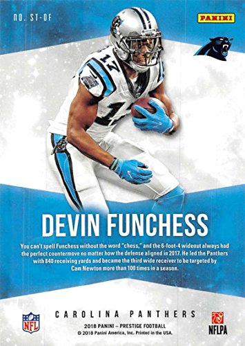 Amazon.com  2018 Prestige NFL Stars of the NFL  ST-DF Devin Funchess  Carolina Panthers Panini Football Card  Collectibles   Fine Art 4576b9c2f
