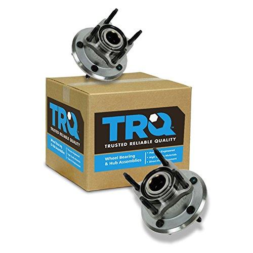 TRQ Wheel Bearing & Hub Assembly Rear Pair for Jeep Commander Grand Cherokee