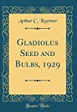 Amazon / Forgotten Books: Gladiolus Seed and Bulbs, 1929 Classic Reprint (Arthur C. Koerner)
