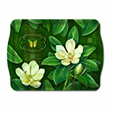 Melamine Serving Trays Plastic Trays Party Trays Food Trays Bed Tray 18 x 12.5 Magnolia