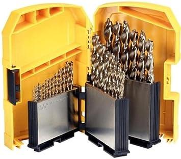 DeWalt DT5928-QZ - Pack de 29 brocas de cobalto para metal, en caja: Amazon.es: Bricolaje y herramientas