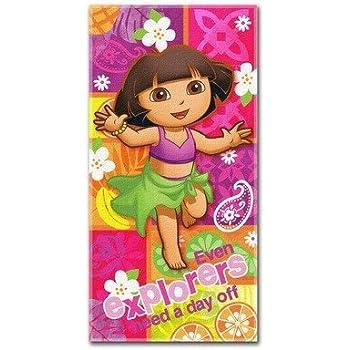 Dora the Explorer Day Off Beach Towel
