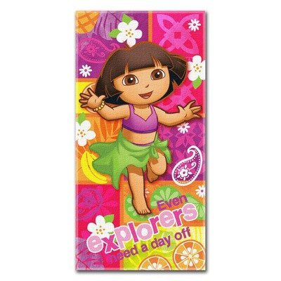 - Dora the Explorer Day Off Beach Towel