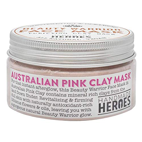 Australian Pink Clay Beauty Warrior Face Mask - All Natural and Vegan