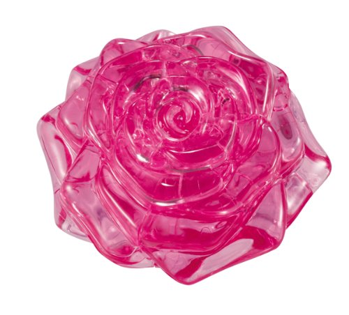 Bepuzzled Original 3D Crystal Puzzle - Rose Pink University Games 30928