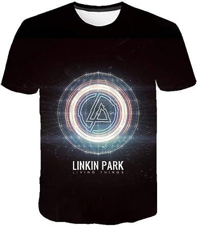 Summer Linkin Park Beach T-Shirt Película Hombre Araña Aventura Manga Corta Moda Casual Imprimir 3Dt Cuello Redondo Camiseta: Amazon.es: Ropa y accesorios