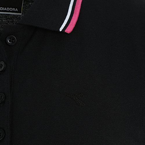 Diadora 102161015 PQ Nero SS sportivi polo pantaloni nbsp;l rqFx48nrw
