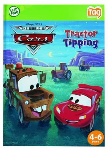 LeapFrog Tag Book Disney Pixar Cars: Tractor Tipping リープフロッグ タグ ブック ディズニー ピクサー カーズ トラクターティッピング 正規品   B002IXNSEW