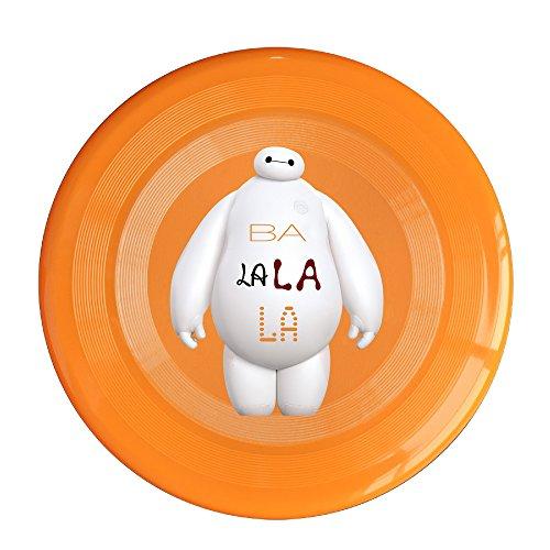 WG Unisex Big Hero 6 BA LA LA LA LA Bay Max Outdoor Game Frisbee Sport Disc Orange