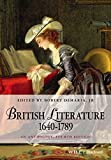 img - for British Literature 1640-1789: An Anthology (Blackwell Anthologies) book / textbook / text book