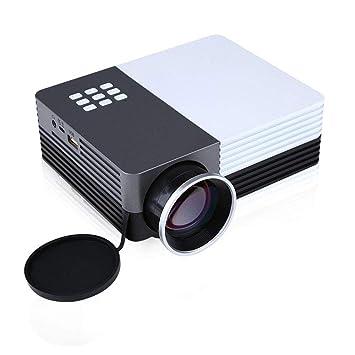 Multi-Media GM50 Mini LED Proyector HD LCD Home Cine Teatro TV ...