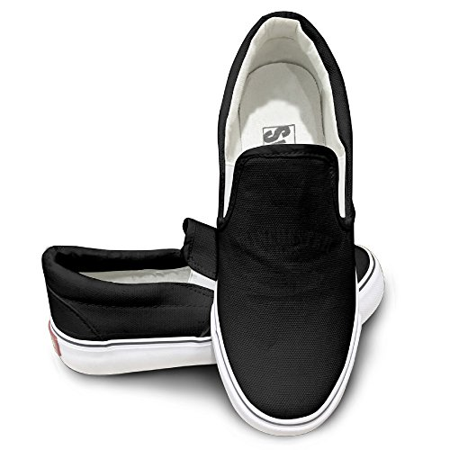 Rebecca Supernatural Activewear Unisex Flat Canvas Shoes Sneaker 42 Black The Round Toe And Manmade Sole Will Keep Your Feet Feeling Comfortable And The Quality Canvas Materials Will Provide Years Of Wear.