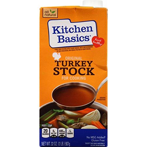 Kitchen Basics Turkey Stock (Kitchen Basics Original Turkey Stock, 32 Ounce (Pack of)
