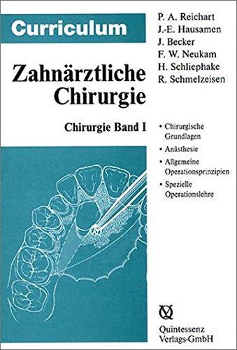 Zahnrztliche Chirurgie: Curriculum, 3 Bnde