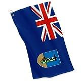 Golf / Sports Towel - Flag of Montserrat - Montserratian