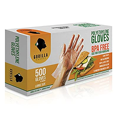 BPA Free Disposable Poly PE Gloves