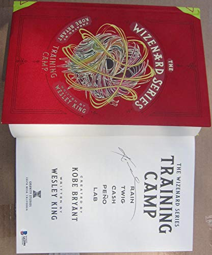 (Kopbe Bryant Signed Book Wizarding Training Camp Beckett BAS Authentic auto)