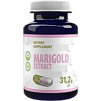 Lutein 40 mg Zeaxanthin 8 mg Komplex från ringblomma extrakt 120 Vegan kapslar x 300 mg, Ögon och syn Hälsotillskott