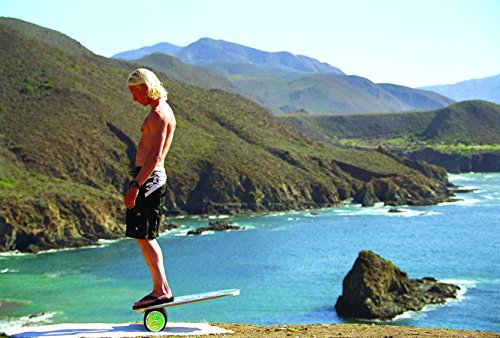 """INDO BOARD Original Balance Board with 6.5"""" Roller and 30"""" X 18"""" Non-Slip Deck – Wave Design by INDO BOARD (Image #4)"""