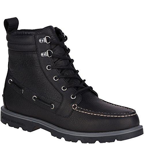 Sperry Top-Sider Men's a/o Lug Ii Wp Chukka Boot, Black, 10.5 M US
