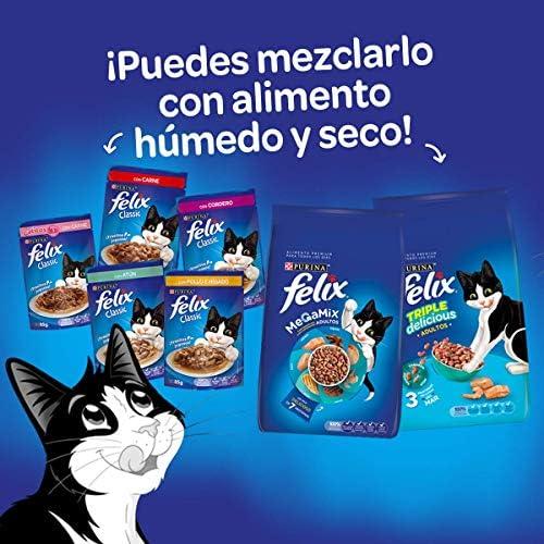 Felix Croquetas para Gato, Triple Delicious, Granja, 1.5Kg 10