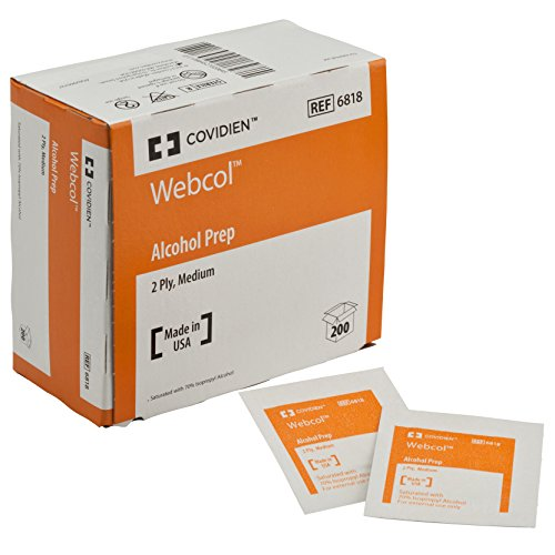 2 Alcohol Wipes - 8