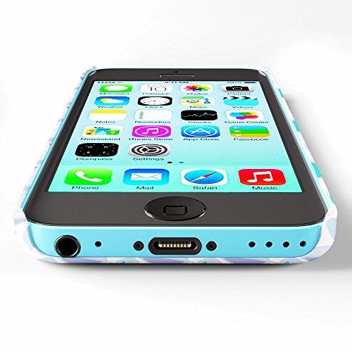 Koveru Back Cover Case for Apple iPhone 5C - Violet Pattern