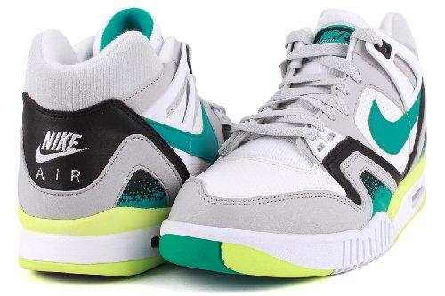 Nike Men Air Trainer Huarache Qs Bianco, Verde, Grigio, Nero