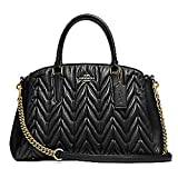 COACH F31486 SAGE CARRYALL IN SIGNATURE LEATHER BLACK