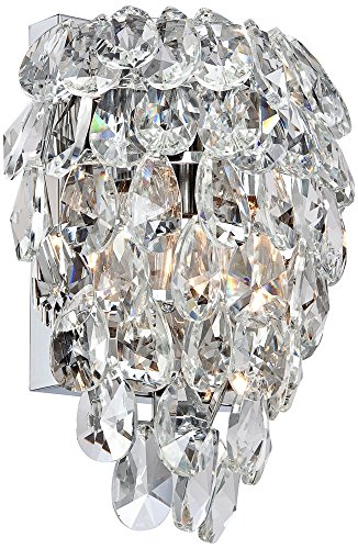 Carriere 9 3/4'' High Crystal Wall Sconce by Vienna Full Spectrum