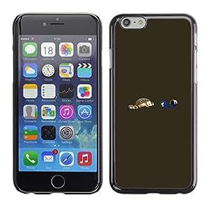 LECELL--Funda protectora / Cubierta / Piel For iPhone 6 -- Divertido erizo --