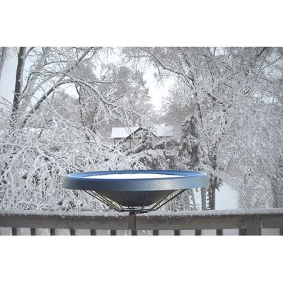 Birds Choice Heated Bird Bath - Deck (Heated Birdbath Deck)